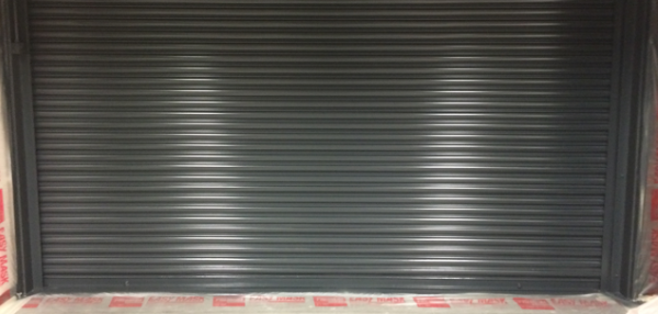 ORS Spray Painting - ALDI Roller Shutters