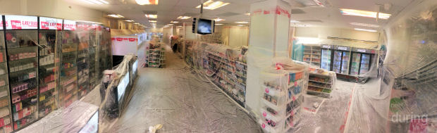 ORS Live retail paint spraying