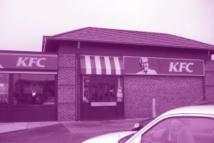Work in progress at KFC Bury